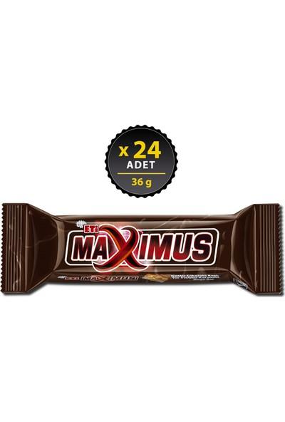Eti Maximus Yer Fıstıklı Bar 36 g x 24 Adet