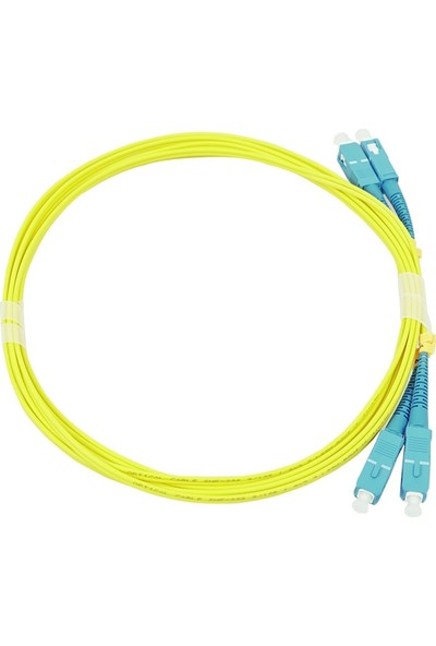 Canovate Fiber Optik Patch Kablo Scpc/scpc Dubleks Sm 3m Sarı Patch Cord