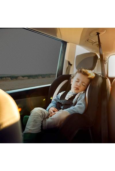 Ankaflex Oto Yan Cam Perdesi Araba Arka Güneşlik Cam Açıkken Toz ve Sinek Önleyici
