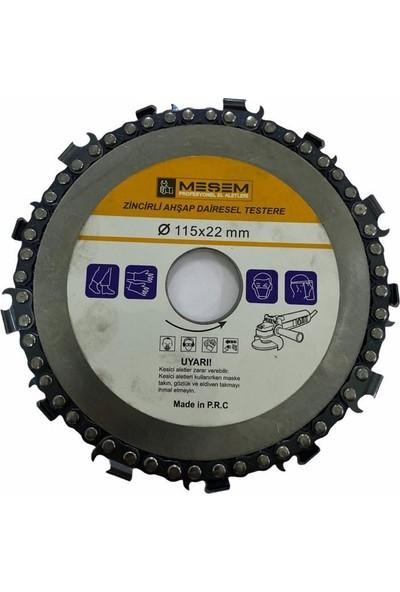 Meşem 929 115 mm Zincirli Ahşap Testeresi