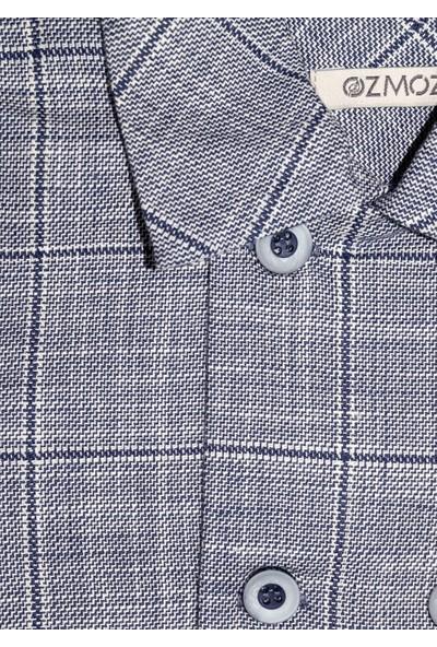 Ozmoz Erkek Bebek Baharlık Klasik Mavi Pantolon Ceket Takım
