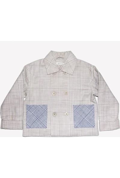 Ozmoz Erkek Bebek Baharlık Klasik Pantolon Ceket Takım