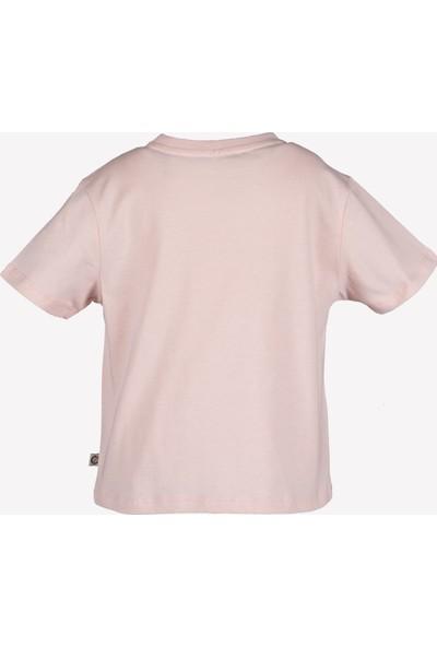 Ozmoz Balık Baskılı Kız Çocuk T-Shirt - Pembe