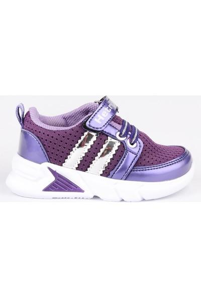 Odesa Hetrix 021 Kız Bebe Mor Spor Ayakkabı