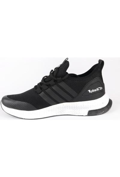 Odesa Reback Erkek Siyah Spor Ayakkabı