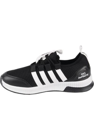Odesa Infinite Unisex Siyah-Beyaz Spor Ayakkabı