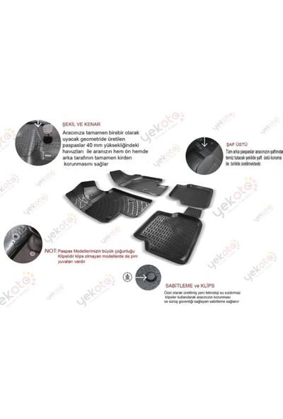 Yekoto Ford Focus 2 2005-2010 Arası 3D Paspas ve Bagaj Paspas Seti Havuzlu