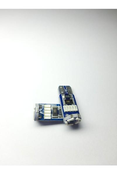 Gt Light T10 LED Park Ampul Mavi 2'li