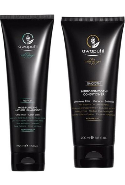 Paul Mitchell Awapuhi Moisturizing Lather Şampuan 250 Ml+Mirror Smooth Saç Kremi 200 ml