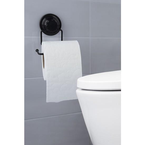 Vip Gross Mat Siyah Tuvalet Kağıtlık VS703