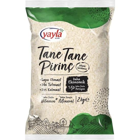 Yayla Tane Tane Pirinç 2 kg