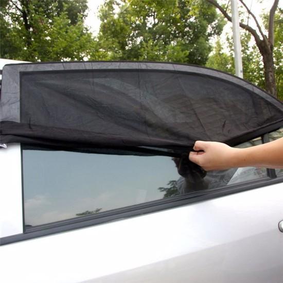 Ankaflex Araba Araç Oto Yan Cam Güneşliği Bebek Güneş Koruma Perdesi Araba Sinek Önleyici
