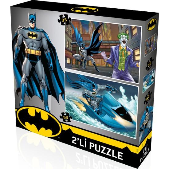 Yappuzz Puzzle Batman Art Lisanslı 50+100 Parça Çocuk Puzzle