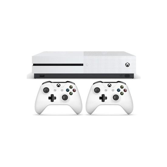 Microsoft Xbox One S - 2 Kol 500 GB Konsol Teşhir Ürünü
