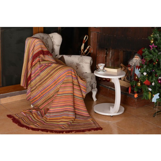 Dolce Bonita Home Aksu Luka Açık Turuncu 150 x 200 cm Battaniye