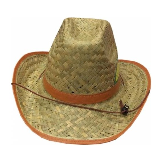 Fun World Kovboy Şapka Hasır Bağcıklı