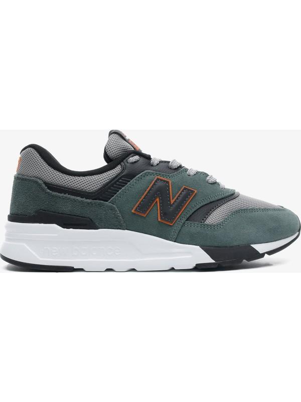 New Balance 997 Erkek Yeşil Spor Ayakkabı CM997HVS.392
