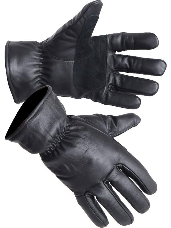 Yds Deri Eldiven -Siyah (Hakiki Deri Eldiven)
