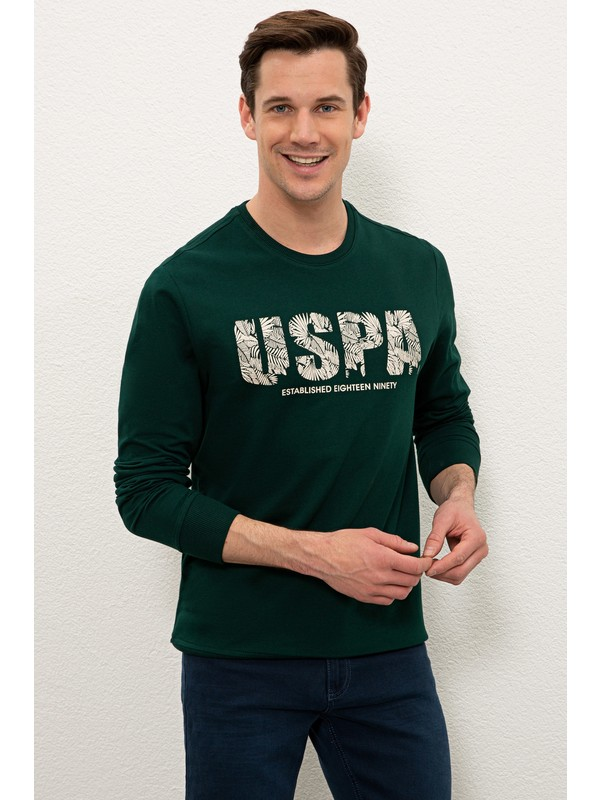 U.S. Polo Assn. Yeşil Sweatshirt 50234139-VR079