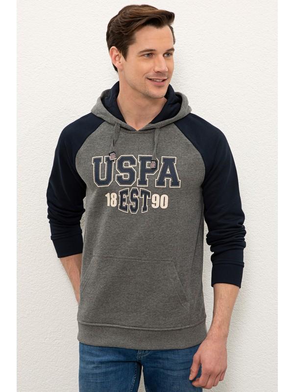 U.S. Polo Assn. Gri Sweatshirt 50234191-VR081