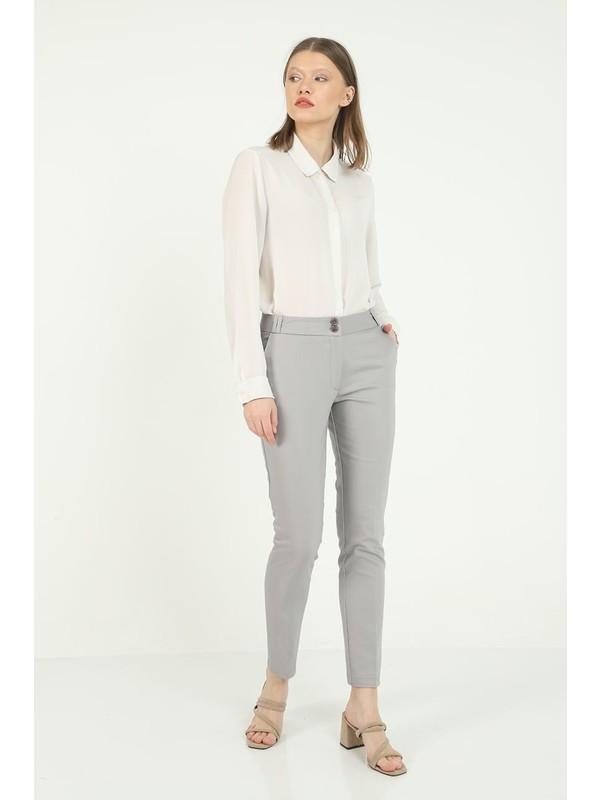 Ezman Kadın Kumaş Pantolon