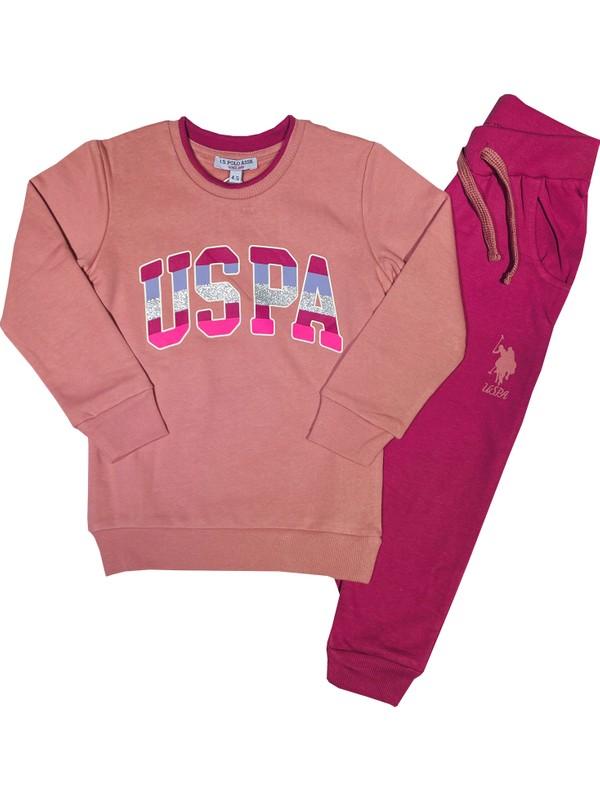 U.s. Polo Assn. Kız Çocuk Eşofman Takım - US2853
