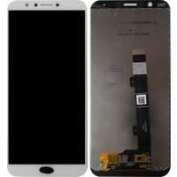 General Mobile Gm 8 Için Lcd+Dokunmatik Beyaz