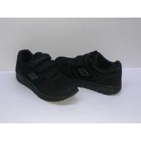 Cırtlı Spor Ayakkabı Siyah