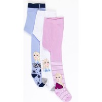 Frozen Çocuk 3'lü Külotlu Çorap 17078