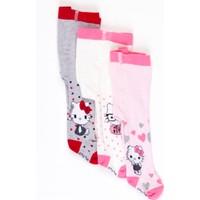Hello Kitty Bebek 3'lü Külotlu Çorap 17054