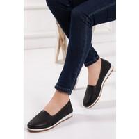 Zulu Kadın Siyah Babet Ayakkabı