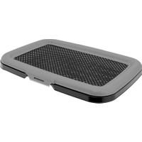 Plastart Elekli Akıllı Açık Köpek Tuvaleti Siyah Metalik PT-310