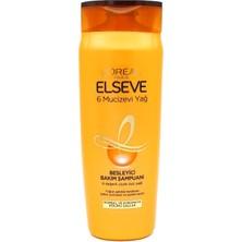 Elseve Loreal Paris Elseve 6 Mucizevi Yağ Besleyici Bakım Şampuanı 670 ml