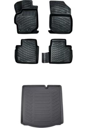 Rizline Volkswagen Passat B7 2011-2014 3D Havuzlu Paspas+Bagaj Havuzu