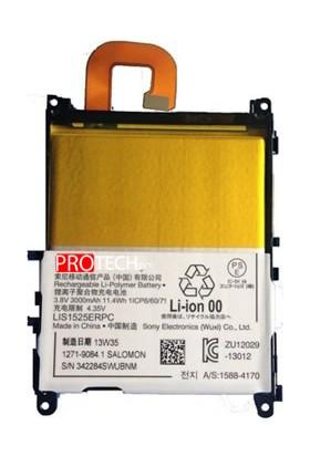Sony Xperia Z1 Batarya Protech Pil
