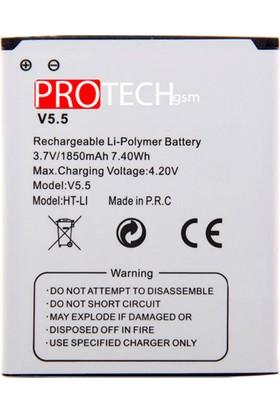 Vestel Venüs 5.5V / 5.5x Batarya Protech Pil