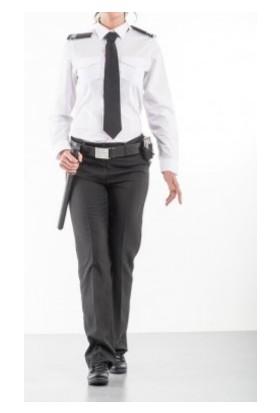 Alpin Özel Güvenlik Gömlek Bayan Uzun Kollu Beyaz