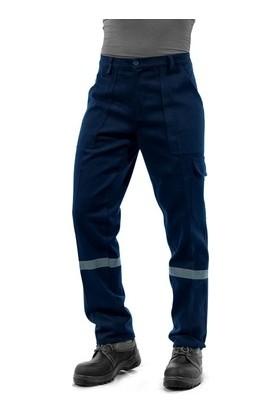 Arslan İş Elbiseleri Lacivert Kışlık Komando Cepli Iş Pantolonu
