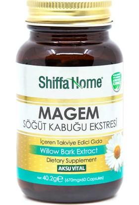 Shiffa Home Bitkisel Magem Söğüt Kabuğu Ekstresi Kapsül