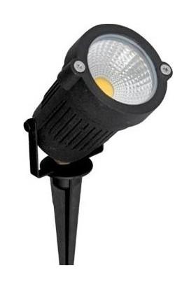 Agb LED Erk LED Ledithalat Kazıklı Çim Armatür 5 W Dış Mekan Yeşil
