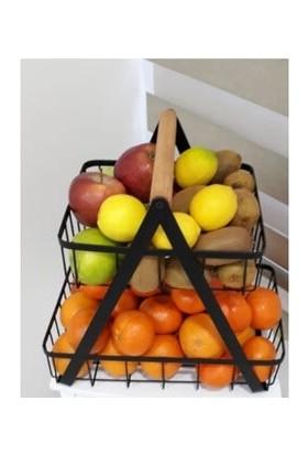 Totem Iki Katlı Meyve ve Sebzelik