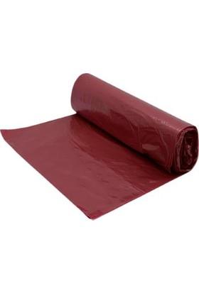 İlka Plastik Pakçöp Endüstriyel Jumbo Eko Çöp Torbası 80 x 110 cm Kırmızı