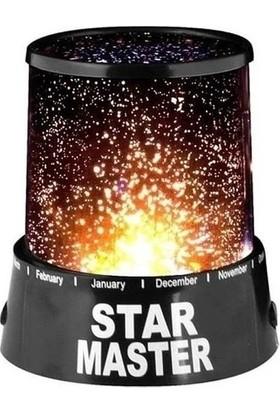 Biotech Yıldızlı Gece Lambası Çocuk Odası Lambası Projeksiyon Tavan Işık Yansıtma