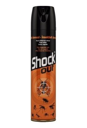 Shock Out Aerosol Kokulu 300 ml x 6'lı