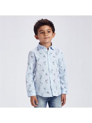 Mayoral Erkek Çocuk Uzunkol Gömlek