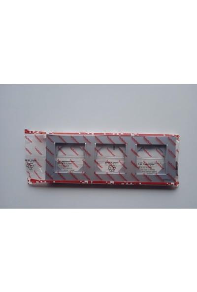 Netelsan Byobu Üçlü Çerçeve Füme M.U.CRV.30006
