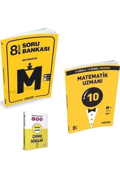 Hız 8. Sınıf Matematik Soru Bankası ve Hız Lgs Uzman Matematik Deneme + Çıkmış Sorular