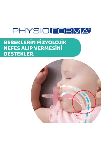 Chicco Physio Soft Silikon Emzik 6-12 Ay Tekli