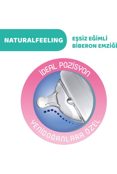 Chicco Naturalfeeling Cam Biberon 0 Ay+ 150 ml