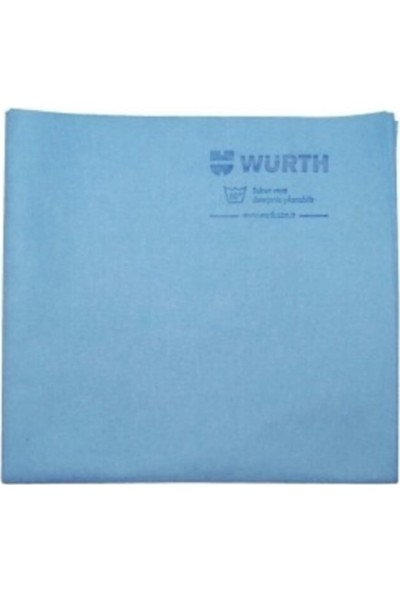 Würth Oto Aksesuar Würth 38X60 cm Sentetik Güderi Bez Mavi 130 gr 2 Adet